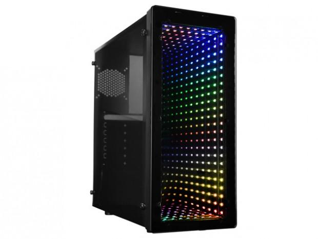 Unlimited Lightingイルミネーション搭載のコンパクトミドルタワー、RAIDMAX「GALAXY」