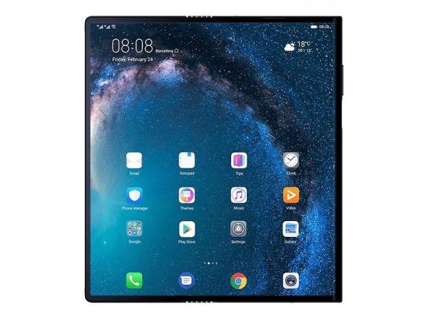 普段はスマホ、開けばタブレット。Huaweiから5G対応の折りたたみスマホ「Mate X」登場