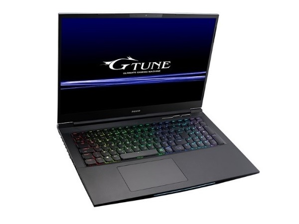 マウスG-Tune、RTX 2070と144Hz液晶採用の17.3型ゲーミングノートPC計2モデル