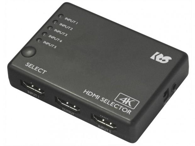ラトック、4K60Hz/HDR対応の低価格HDMI切替器など計5モデル