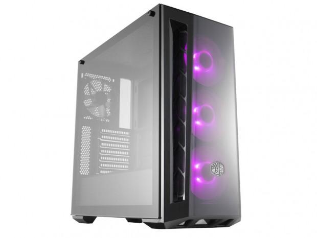 最大6基のファンを搭載できる高冷却ミドルタワー、Cooler Master「MasterBox MB520 RGB」