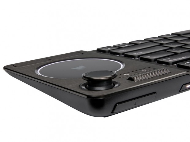 ジョイスティックとタッチパッドを備えたCORSAIR「K83 Wireless」を国内発売