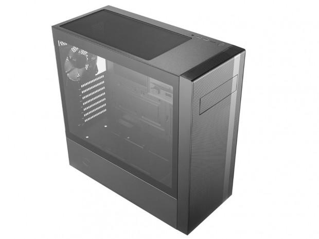 Cooler Master、5インチベイ搭載のフロントメッシュPCケース「MasterBox NR」シリーズ
