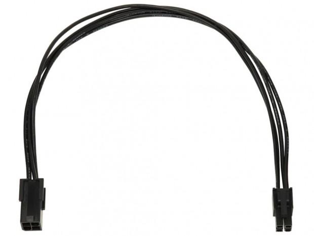 大型ケースの裏配線に便利なATX12V用電源延長ケーブルがアイネックスから