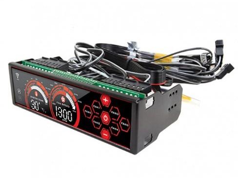 大型液晶を採用する5.25インチベイ内蔵型ファンコントローラがX2から