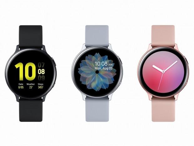 Samsung、デジタル回転ベゼル搭載スマートウォッチ「Galaxy Watch Active2」