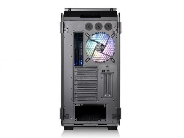 Thermaltakeの強化ガラス採用フルタワー「View 71 TG」にARGBファンモデル登場