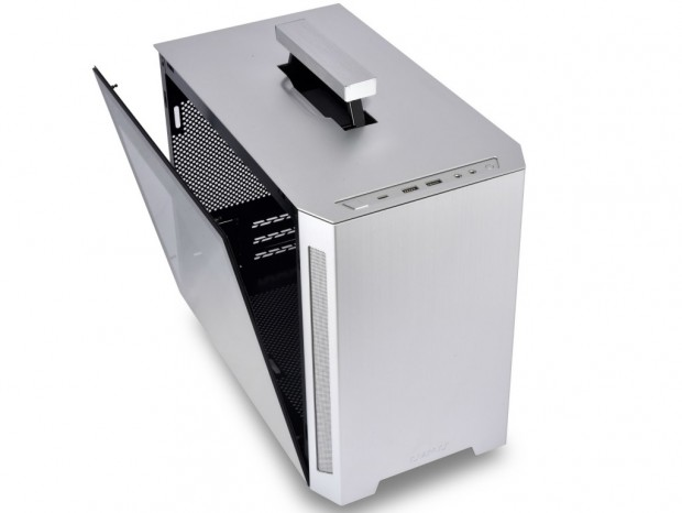 格納式ハンドル付きMini-ITXケース、Lian Li「TU150」は10月18日発売