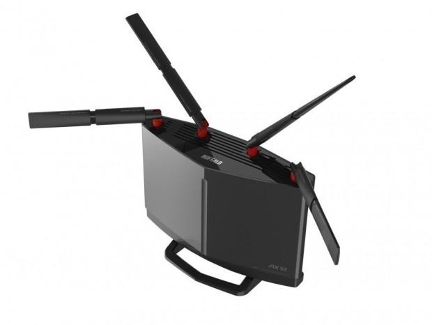 10ギガビットLAN搭載のWi-Fi 6無線LANルーター、バッファロー「WXR-5950AX12」