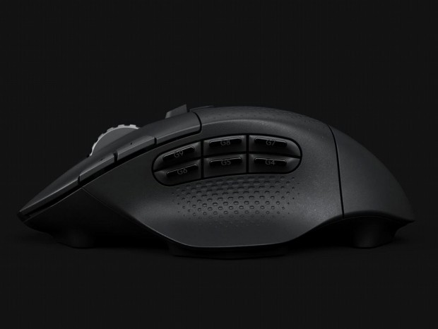 Logitech、多ボタン構成の高速ワイヤレスマウス「Logitech G604 LIGHTSPEED」