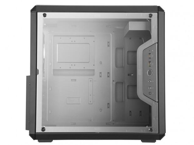ATXマザー対応の超小型タワー型PCケース、Cooler Master「MasterBox Q500L」