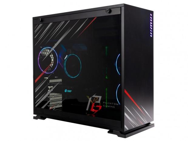 In Win、Phantom Gaming Allianceモデル。Mini-ITXとミドルタワー2種発売