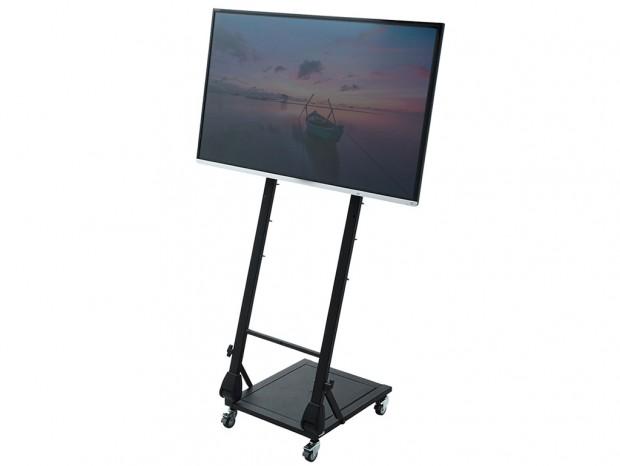 42インチ対応のデジタルサイネージ向け液晶ディスプレイスタンド2種発売