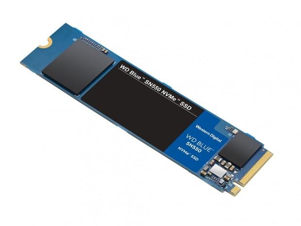 Western Digital、最高2.4GB/secの「WD Blue SN550 NVMe SSD」年内発売