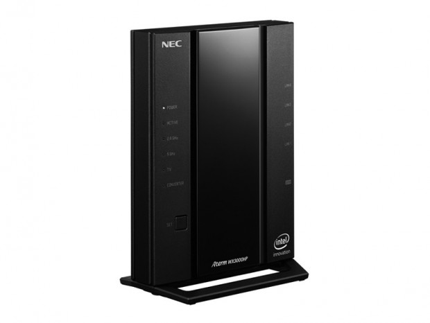 NEC、実効スループット4,040Mbpsの超高速Wi-Fi 6ルーター「Aterm WX6000HP」