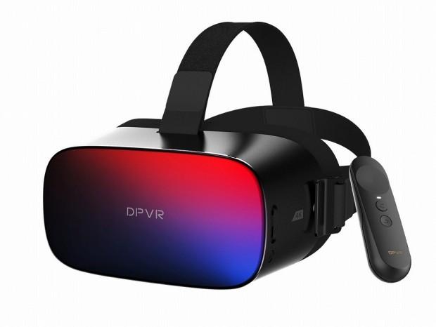 DPVR、4K対応のスタンドアロン型VR HMD「DPVR P1 Pro 4K」今月発売