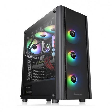 3基のARGBファンを備えた魅せるPC構築のベース筐体、Thermaltake「V250 TG ARGB」