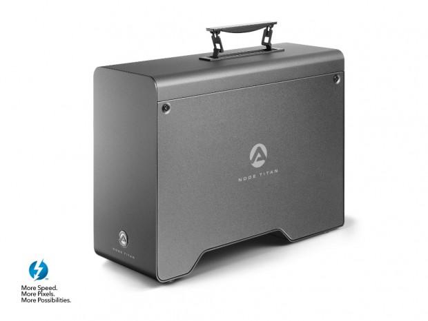 650W電源を内蔵したPCI-Expressカード拡張ボックス、AKiTiO「Node Titan」