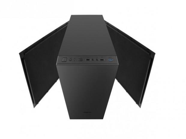 4面に遮音材を貼り付けた静音志向PCケース、X2「Cronos Zero Stone Noise」