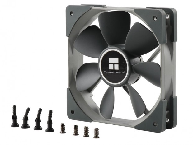 Thermalright、AIO水冷で採用の120mmファン「TY-121BP」単体発売
