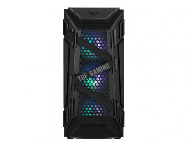 ハニカムフロント構造の高エアフローミドルタワー、ASUS「TUF Gaming GT301」