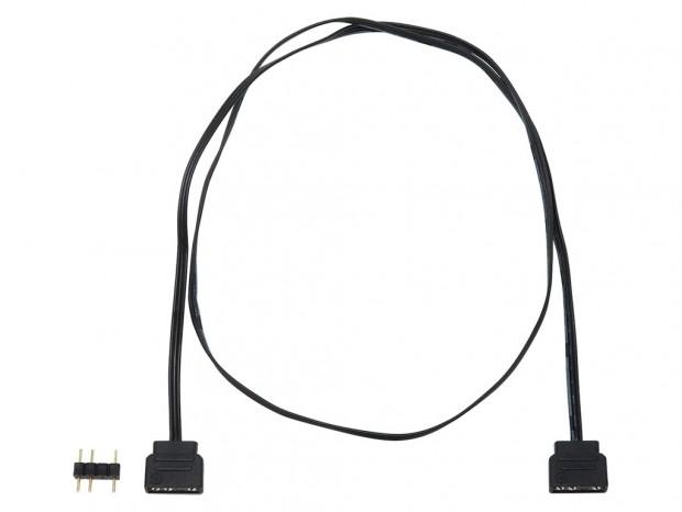 アイネックス、アドレサブルLED用4分岐ケーブルと50cm延長ケーブル