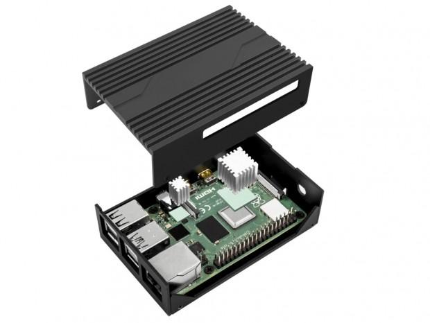 SilverStone、ヒートシンク付属のRaspberry Pi 4 Model B用アルミケース国内発売