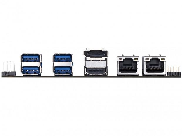 Core i7-7600U搭載の超小型SBC、GIGABYTE「GA-SBC7600」