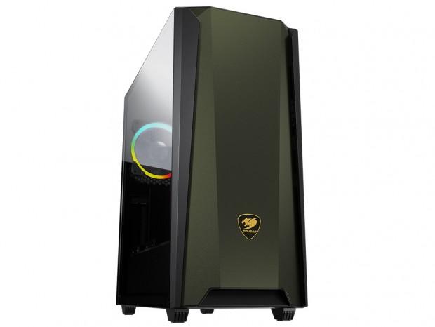 メタル製フロントパネル採用のミドルタワーPCケース、COUGAR「MX660 Iron RGB」