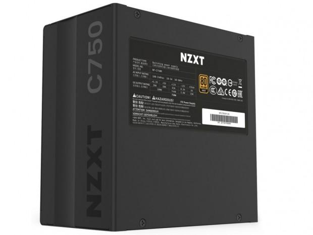 NZXT、GOLD認証取得のセミファンレス電源に750Wと650Wモデル追加