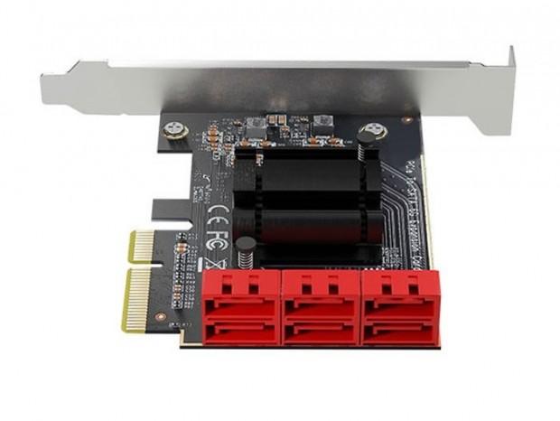 エアリア、SATA3.0ポート6基を増設する拡張カード「V6 NA」発売
