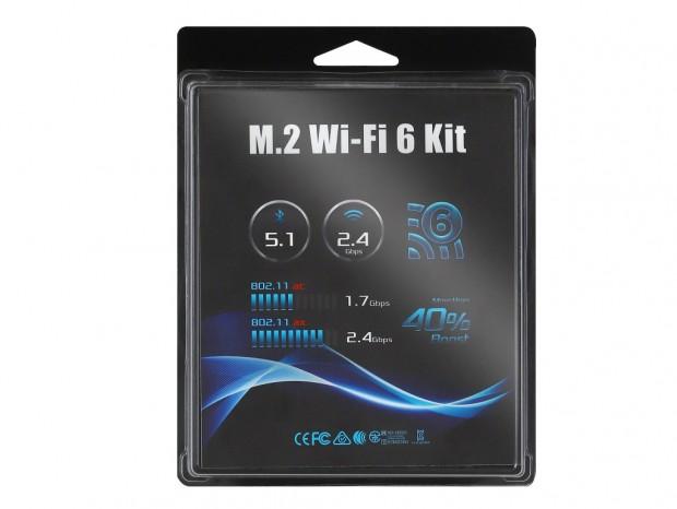 ASRock、DeskMiniシリーズ向けオプションパーツ「M.2 WiFi 6 kit」など2種