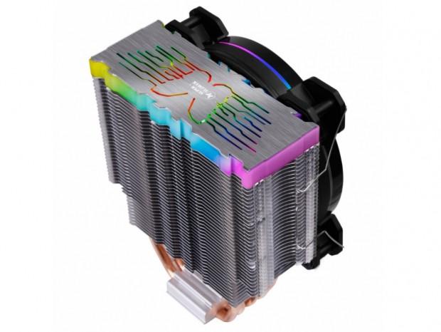 計32灯のARGB LEDが派手に光るエントリーサイドフロー、Super Flower「NEON Air 122」