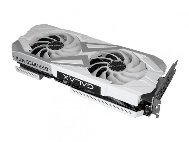 玄人志向、GALAKUROブランドから白いGeForce RTX 3060 Ti発売