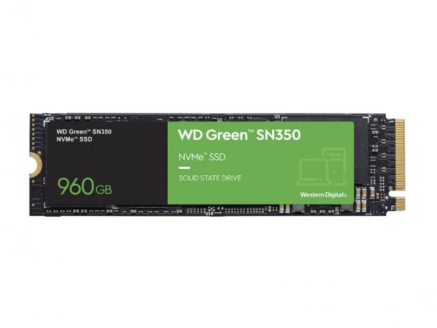 Western Digital、エントリー向けNVMe SSD「WD Green SN350 NVMe SSD」