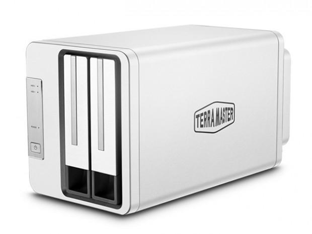 USB3.1 Type-C接続の2ベイRAIDケース、TerraMaster「D2-310」
