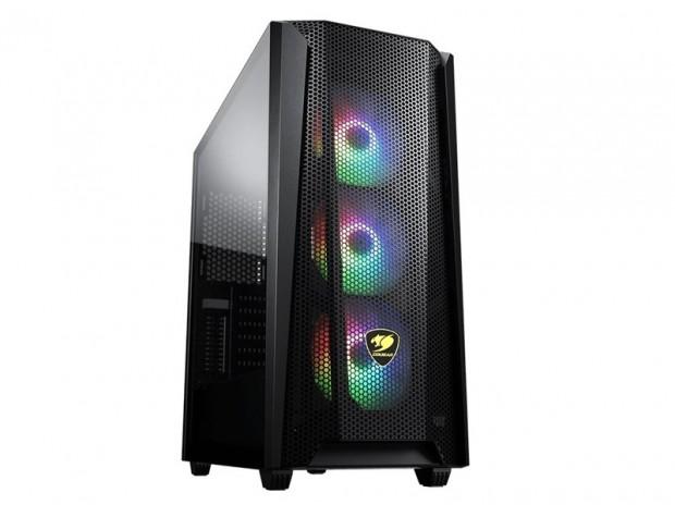 COUGAR、立体的メッシュのフロントパネルを備えたミドルタワー「MX660 Mesh RGB-L」