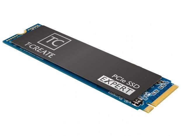 書込耐性12,000TBWのマイニング向けSSD、Team「T-CREATE EXPERT PCIe SSD」