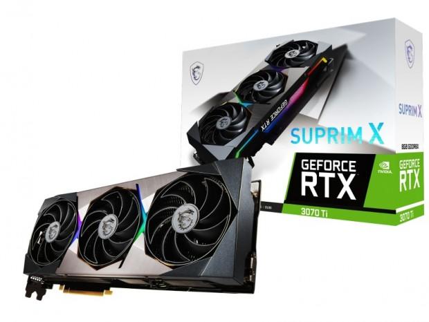 MSI、GeForce RTX 3070 Ti搭載グラフィックスカード計3モデル発売