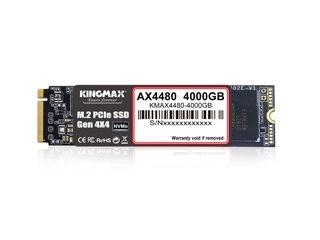 最大容量4TBのPCIe4.0 NVMe M.2 SSD、KINGMAX「AX4480」シリーズ