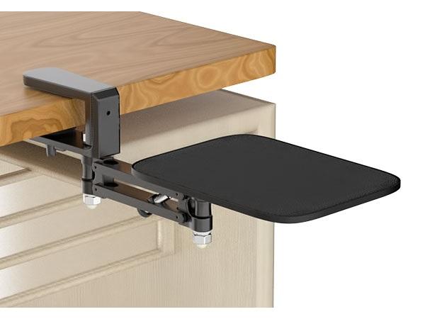 エアリア、身体に近い位置にマウスを設置できるクランプ式スタンド「CA-110」発売