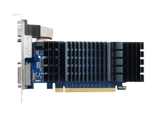 ファンレス、ロープロ仕様のGT 730、ASUS「GT730-SL-2GD5-BRK」発売