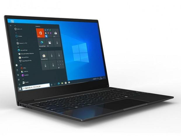 M.2 SSDを増設できるWindows 10 Pro搭載14型ノートPC、恵安「KZG14X128BK」